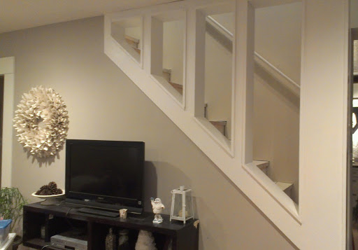 Living Room Staircase
